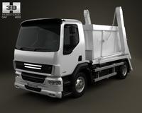 DAF LF Skip Loader 2011 3D Model