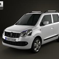 Suzuki Wagon R (Maruti) 2011 3D Model