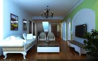 LivingRoom 028 3D Model