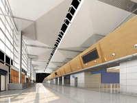 Lobby space 096 3D Model