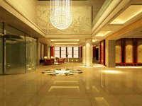 Lobby space 117 3D Model
