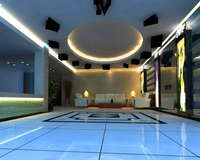Lobby space 121 3D Model