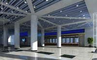 Lobby space 130 3D Model