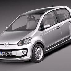 Volkswagen Up! 4-door 2013 3D Model