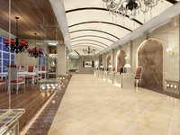 Lobby space 139 3D Model