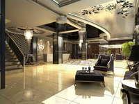 Lobby space 146 3D Model