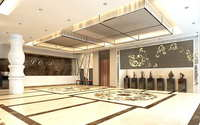 Lobby space 153 3D Model