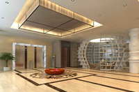 Lobby space 154 3D Model