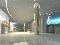 Lobby space 164 3D Model