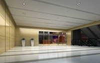 Lobby space 165 3D Model