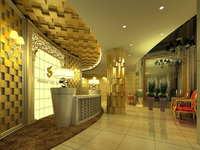 Lobby space 175 3D Model