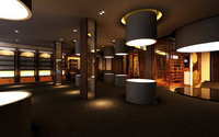 Lobby space 176 3D Model
