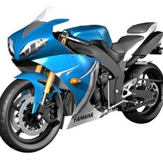 R1 yamaha model 3D Model