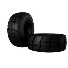 Indastrial Tire   3D Model