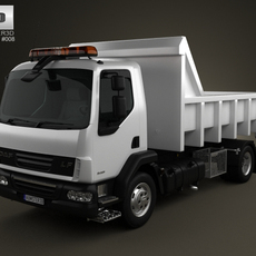 DAF LF Tipper 2011 3D Model