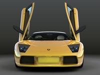 Lamborghini-Murcielago 3D Model