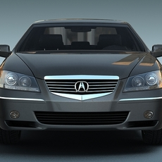Honda Acura RL 3D Model
