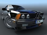 BMW M6 E24 3D Model
