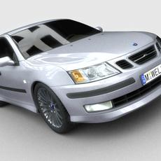 Saab 93 3D Model