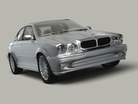 Jaguar X-Type 3D Model