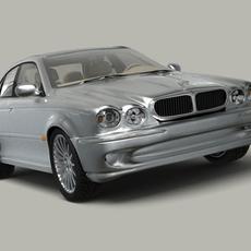 Jaguar X-Type 3D Model
