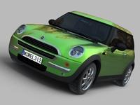 MINI Cooper 3D Model