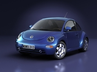 Volkswagen New Beetle 3D Model