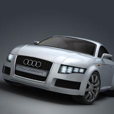 Audi Nuvolari quattro 3D Model