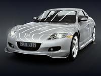 Mazda RX 8 3D Model