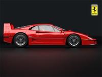 Ferrari F40 3D Model