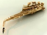 Saxophone 3D Model