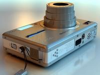 Kodak EasyShare V550 3D Model