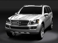 Mercedes GL 3D Model