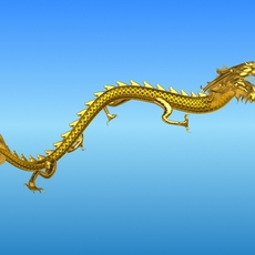 Chinese Dragon 3 3D Model
