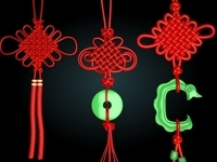 Chinese knot 3D Model