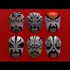 03 35 09 715 chinese opera masks 06 4
