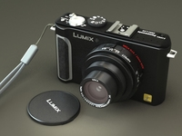 Panasonic Lumix lx3 3D Model