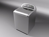 Whirlpool Cabrio Washing Machine 3D Model