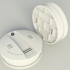 Smoke Alarm Flammex 3D Model