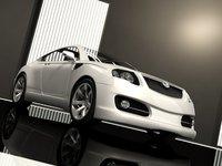 Skoda Rapid Concept 3D Model