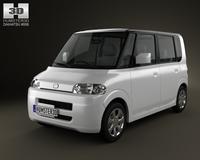Daihatsu Tanto 2003 3D Model