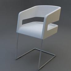 modern chair 01 3D Model