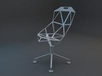 hitech chair 02 3D Model