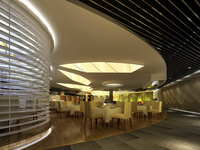 Lobby space 184 3D Model