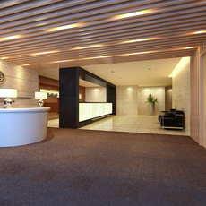 Lobby space 180 3D Model
