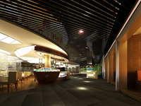 Lobby space 183 3D Model
