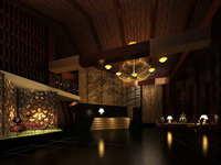 Lobby space 187 3D Model