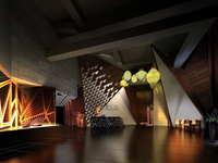 Lobby space 188 3D Model
