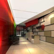 Lobby space 192 3D Model
