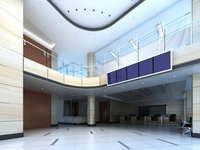 Lobby space 194 3D Model